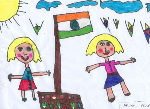 Republic Day Drawing Pictures