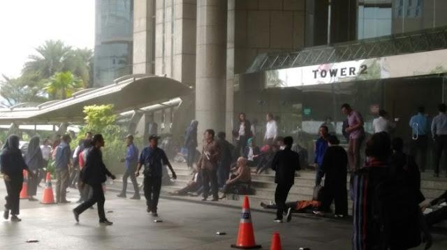 Korban Abruknya Balkon Gedung 2 BEI 15 Orang....