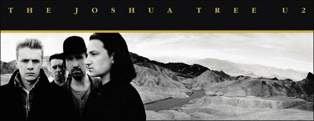 "Disco ""The Joshua Tree"" de U2"