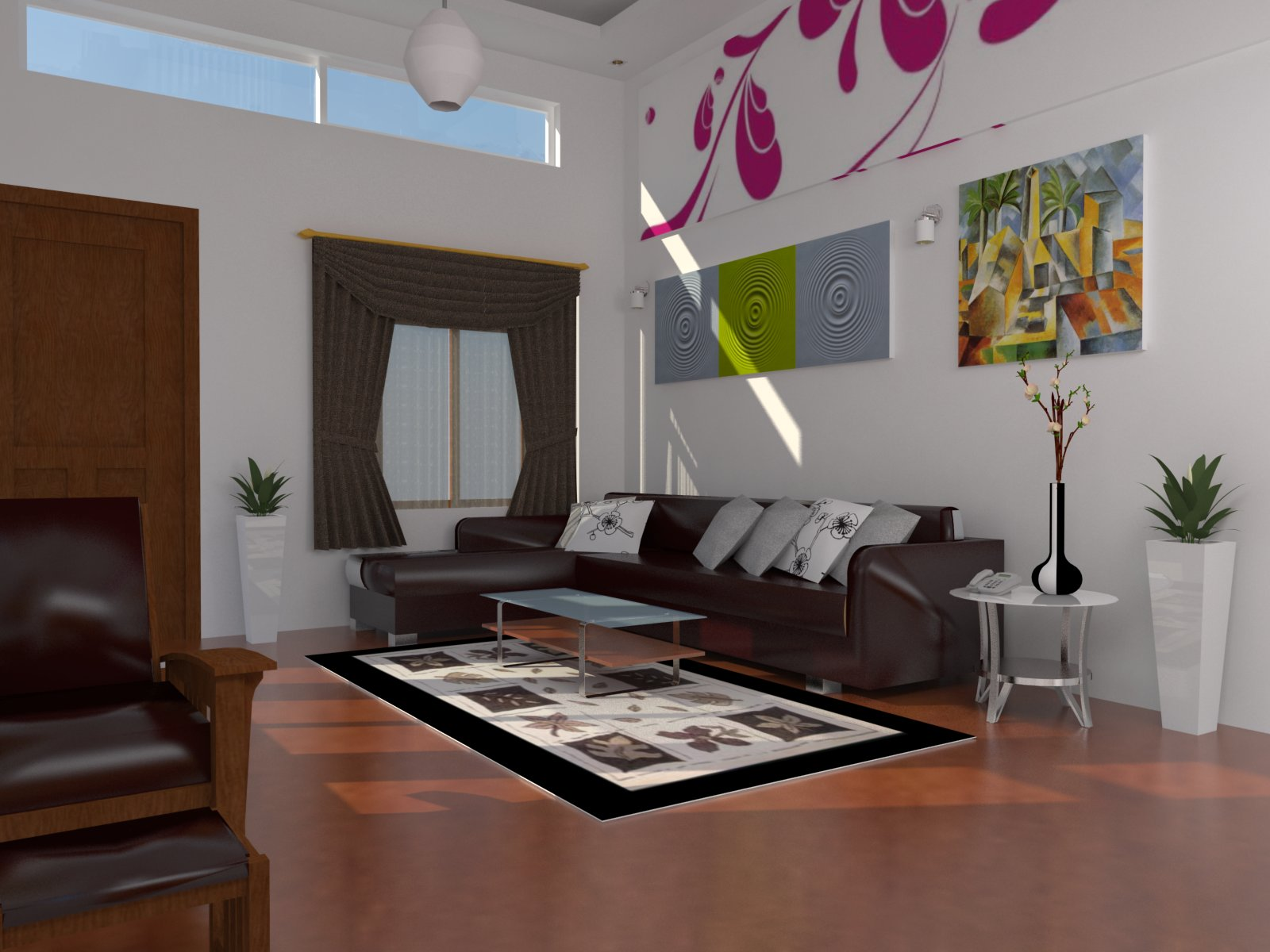 Living Room By Sketchup Lim Rady