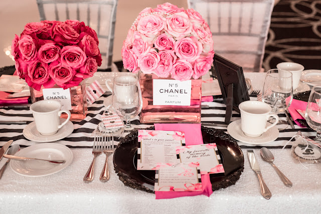 How to plan a chanel themed bridal shower bays style diary see my bridal shower invitation below for the first example of her work you can also receive 20 off in her shop with code bay filmwisefo