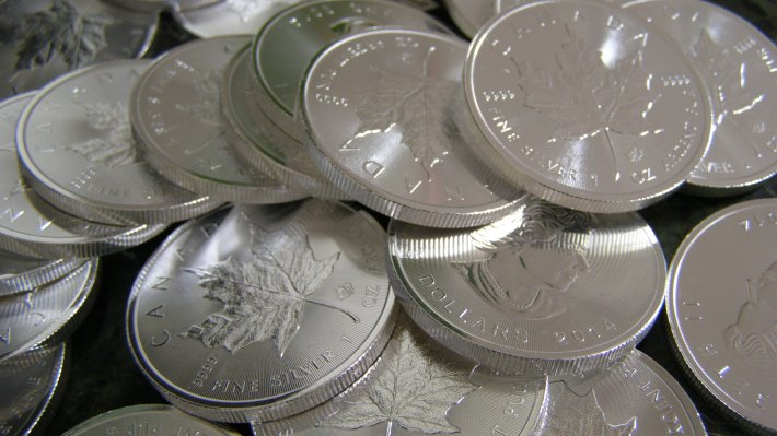 Wallpaper 2: Silver Coins