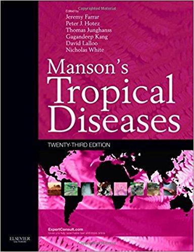 Manson Các Bệnh nhiệt đới và truyền nhiễm 23e