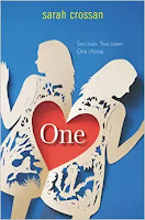 One by Sarah Crossan book cover and review
