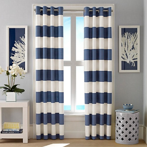 Nautical Cabana Stripe Curtains