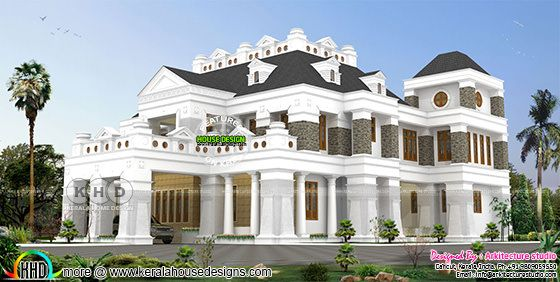 Luxury Colonial style home in 889 sq-yd
