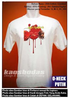 Kaos Gambar Jago bangkok 05