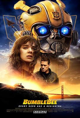 Bumblebee 2018 movie poster Transformers Hailee Steinfeld John Cena