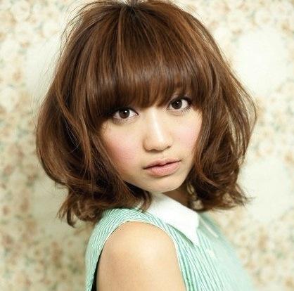 Model Rambut Ala Korea Wanita