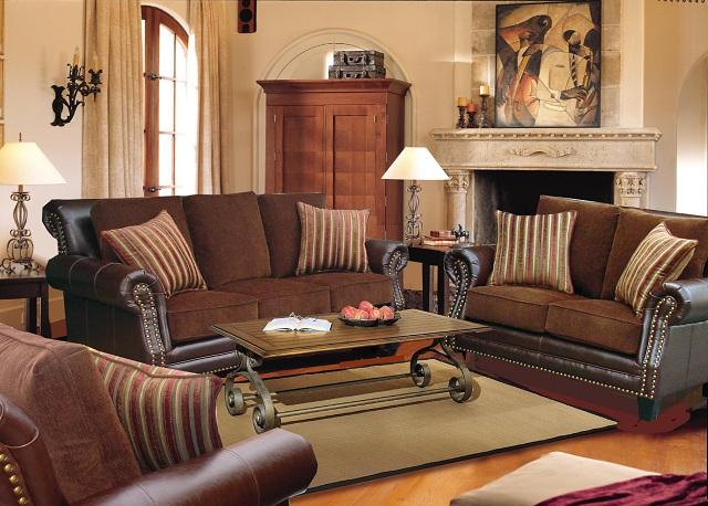 Decoraci n de salas con estilo cl sico salas y comedores for Adornos decorativos para sala