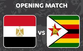 موعد مباراة مصر ضد زيمبابوي ٢٠١٩
