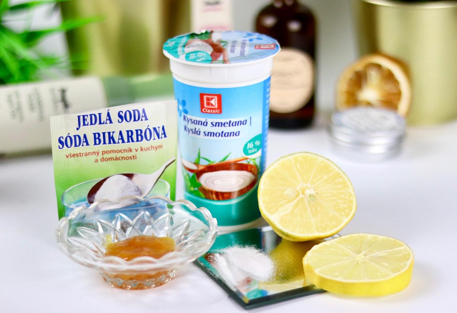 soda bikarbona a citron na problematicku plet