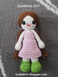 Crochet Amigurumi Doll CAL Ep3 - Arms and Hair - YouTube | 320x244