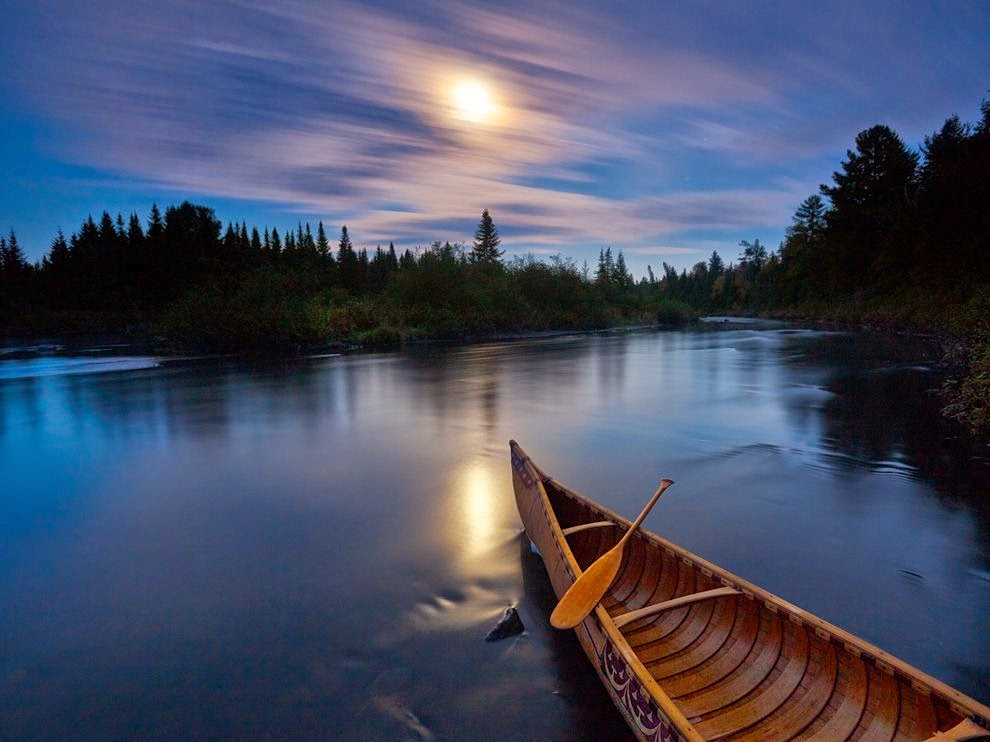 Michael Melford, Allagash River, Maine, National Geographic