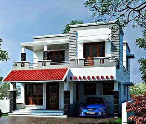 Desain Rumah Minimalis 2 Lantai Sederhana Luas Tanah 50m2