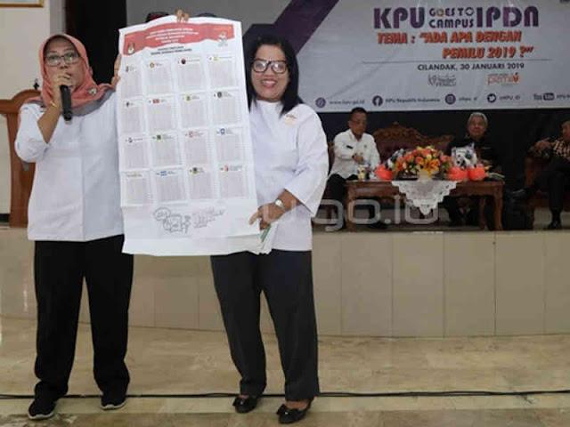 KPU Ajak Pemilih Jaga Hak Pilih pada Pemilu 2019