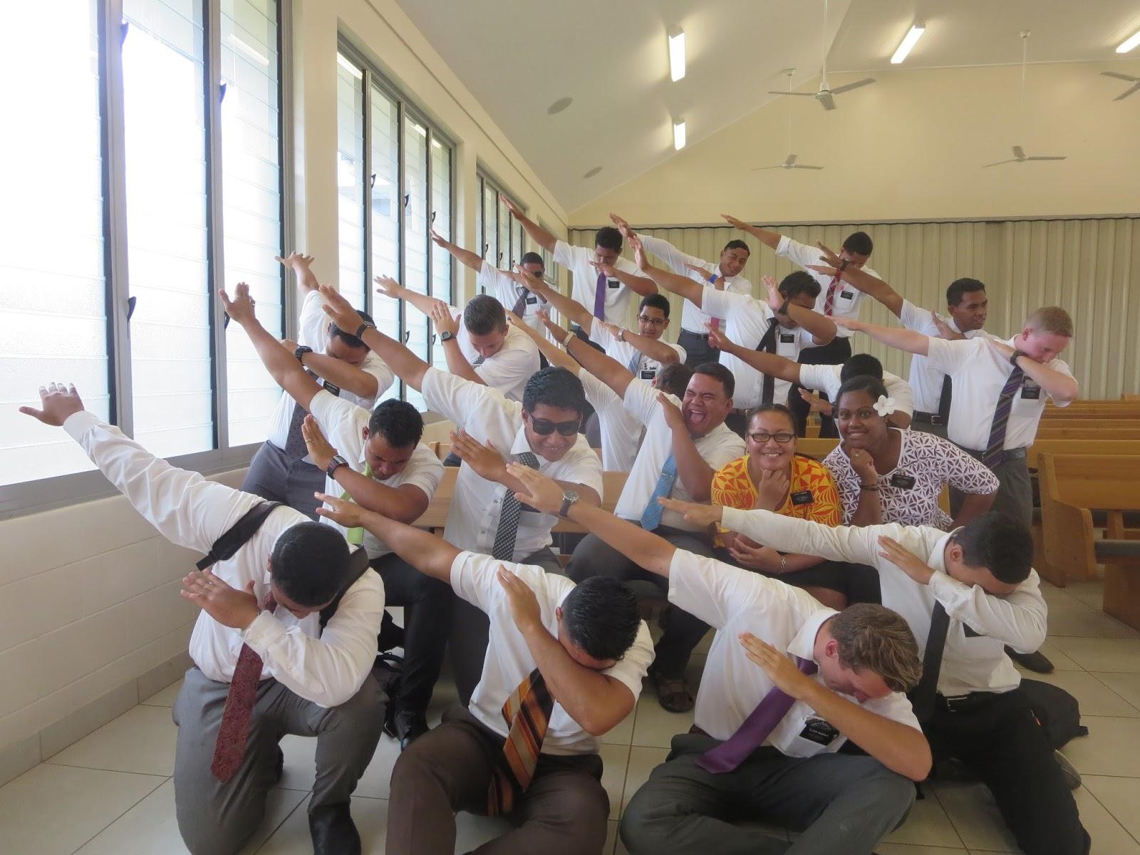 Justin Sterner Samoa Apia Mission: June 26 - Doing the dab