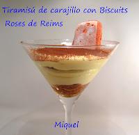 Tiramisú de carajillo con Biscuits Roses de Reims