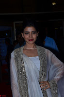 Samantha Ruth Prabhu cute in Lace Border Anarkali Dress with Koti at 64th Jio Filmfare Awards South ~  Exclusive 024.JPG