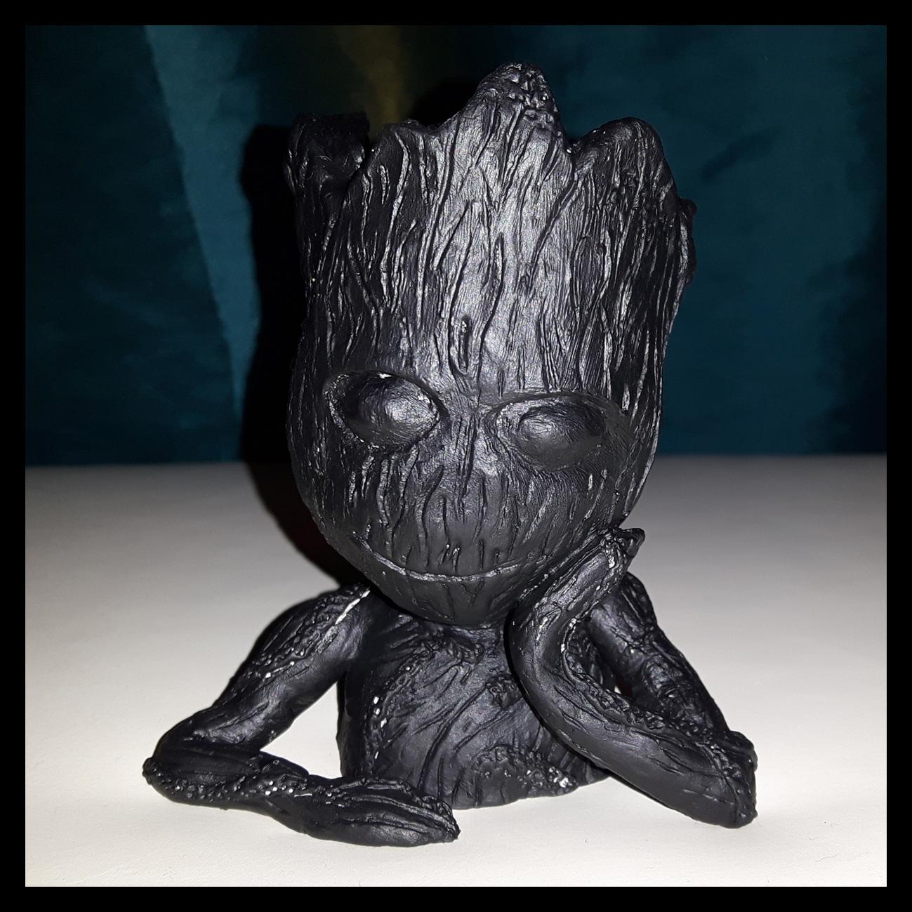 NIB Guardians of the Galaxy Vol 2 Baby Groot Blumentopf Flowerpot Garten Figur