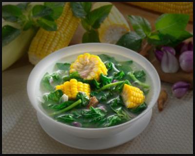 Resep Sayur Sederhana, Bayam Jagung Yang Segar