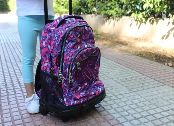 mochilas con ruedas para la vuelta al cole