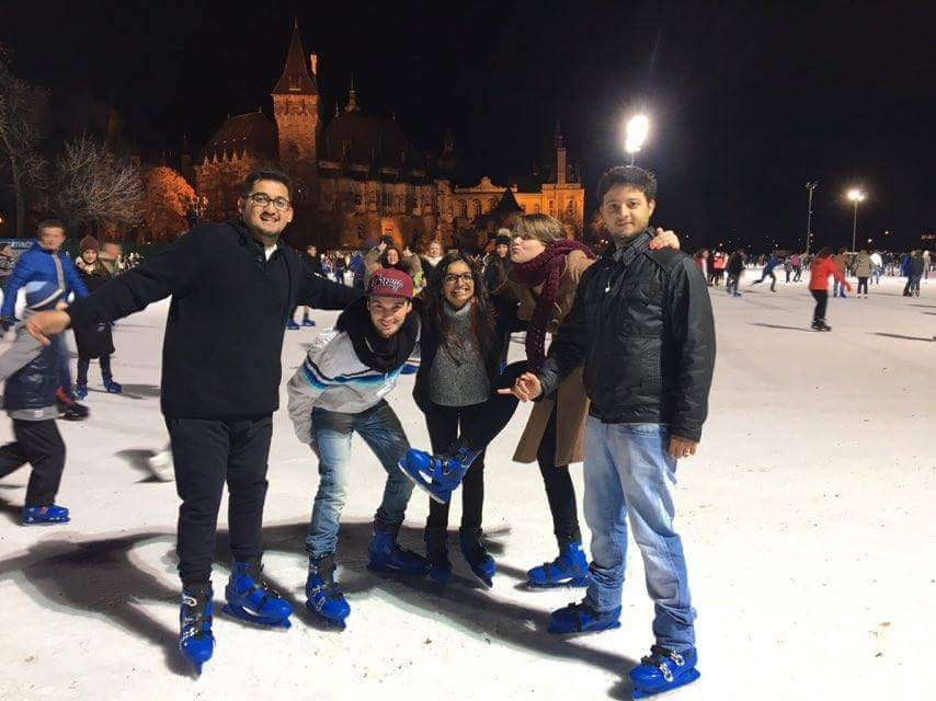 7831db0b1ea Ice skating in Europe's biggest outdoor ice skating rink
