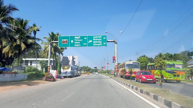 roads at kochi