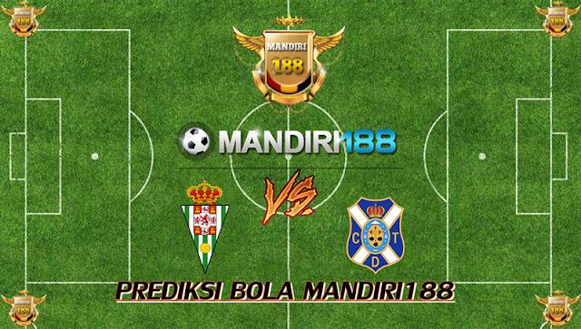 AGEN BOLA - Prediksi Cordoba vs Tenerife 18 September 2017
