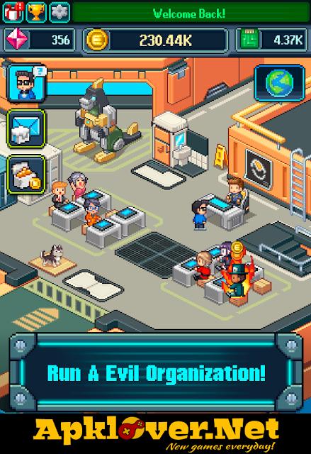 Tap Tap Evil Mastermind MOD APK unlimited money & unlocked