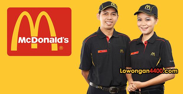 Lowongan Kerja McDonalds Indonesia 2018
