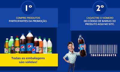 Como participar Promoção Pepsi 2015