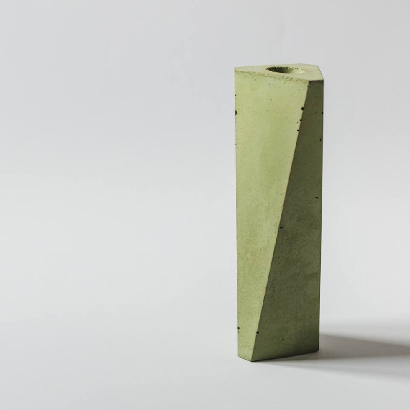 vaso portafiore in cemento naturale - Materieprime