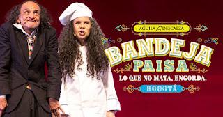 Bandeja Paisa por El Aguila Descalza en Bogotá 3