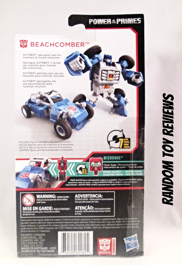 Transformers G1 Minibot Autobot BEACHCOMBER Action Figure Reissue New in Card