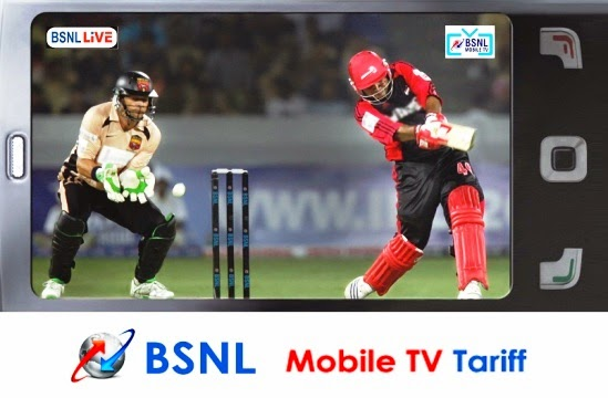 BSNL offers FREE Mobile TV packs with existing prepaid 3G data STVs in all the circles up to 31st March 2016