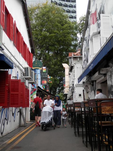 visite du quartier Malay Singapour
