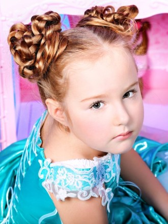small hair style ribbons and braids hairstyles for 2012 2013 4962