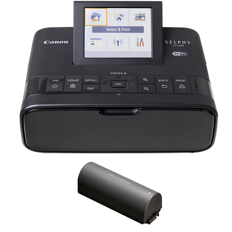 Canon Selphy CP1300 Compact Photo Printer (PHP 10,496)