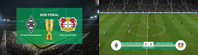 PES 2019 Scoreboard DFB-Pokal Season 2018/2019 by 1002MB