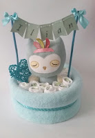 babyshower gateau couche original