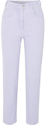 image result L.F.Markey - Johnny High-Rise Tapered Jeans - Lilac