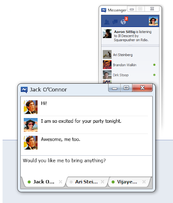 Download New Official Facebook Messenger For Windows
