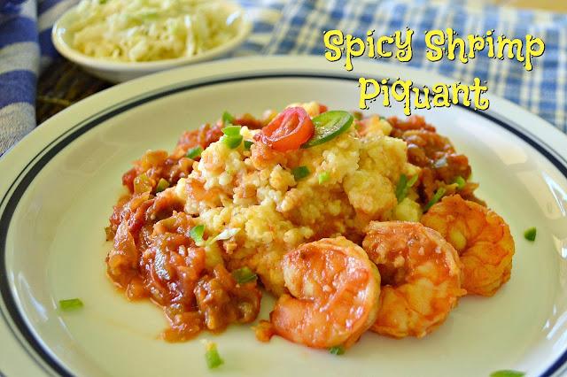 shrimp, grits
