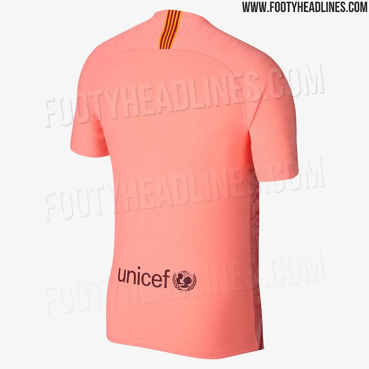 Nike FC Barcelona 18-19 Third Kit Released - Footy Headlines 767a365b32a