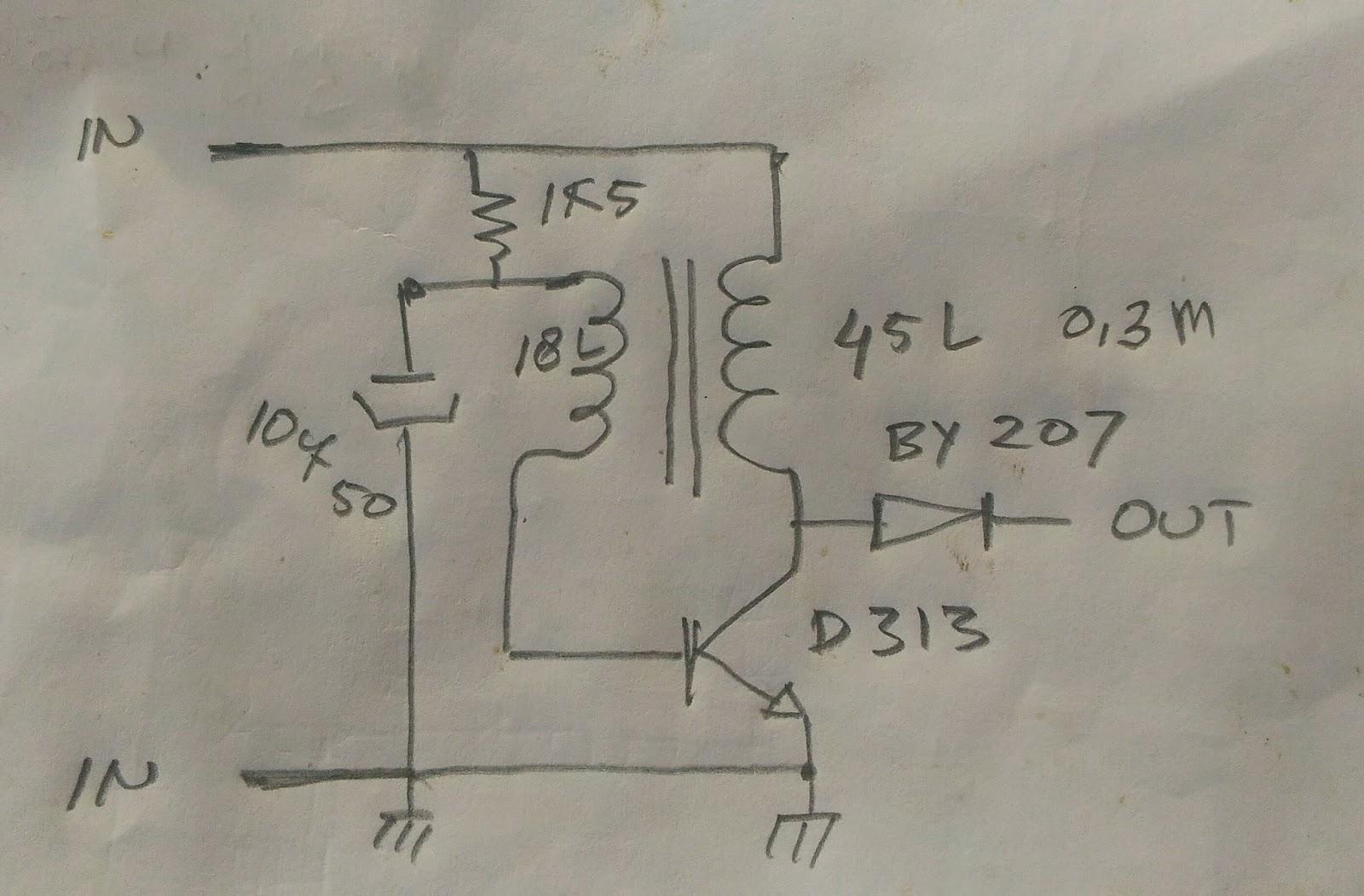 Membuat Rangkaian Dc To Dc Inverter Sederhana Flyin Dvb