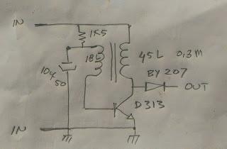 Membuat rangkaian dc to dc inverter sederhana