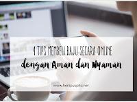 Tips Beli Baju Online