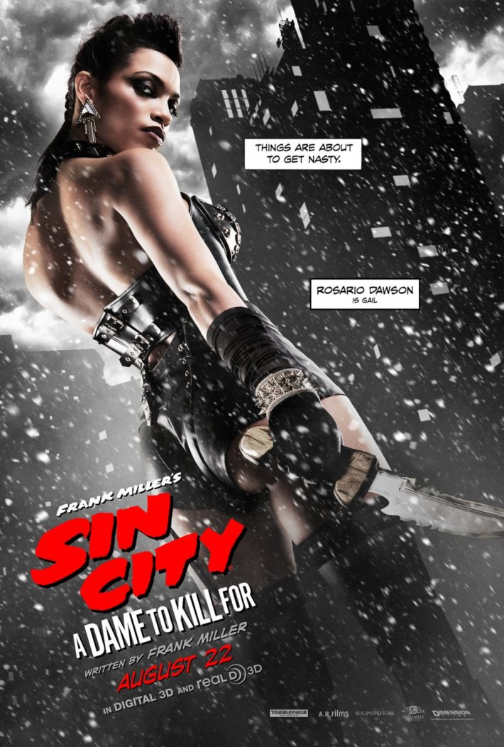 Poster: Sin City A Dame to Kill For 2014