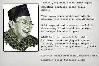 Kata Mutiara Gus Dur